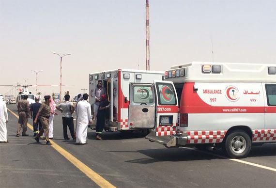 الهلال الأحمر بالشمالية يباشر 3 وفيات و104 إصابات بمحرم - المواطن