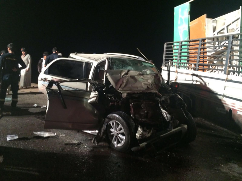 ١٠ إصابات في حادث شنيع على طريق ينبع القديم9