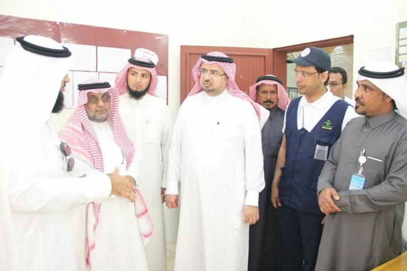 المتحمي يناقش احتياجات مركز حميد العلايا بـ #محايل