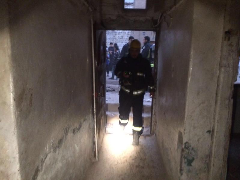 حريق منزل بالمدينة المنورة