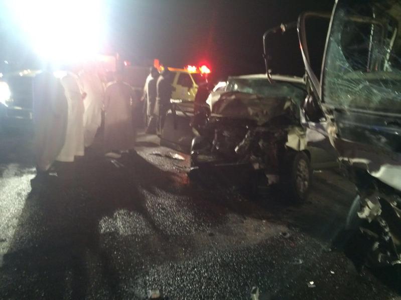 ١٠ إصابات في حادث شنيع على طريق ينبع القديم