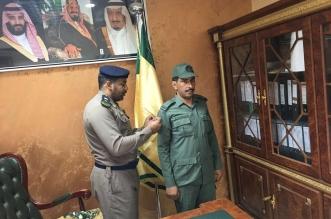 مدير الدفاع المدني بخيبر يقلد العازمي رتبة رقيب - المواطن