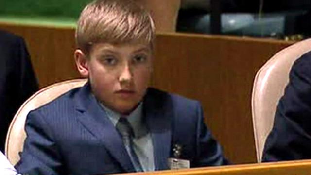 لماذا حضر هذا الصبي جلسة الأمم المتحدة ؟ - المواطن