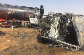 5 وفيات و13 إصابة في حادث مروع على طريق صعبر - المواطن