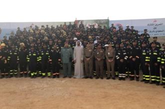 فريقا البحث والإنقاذ السعودي والإماراتي ينفذان فرضية تحاكي الزلازل في الرياض - المواطن