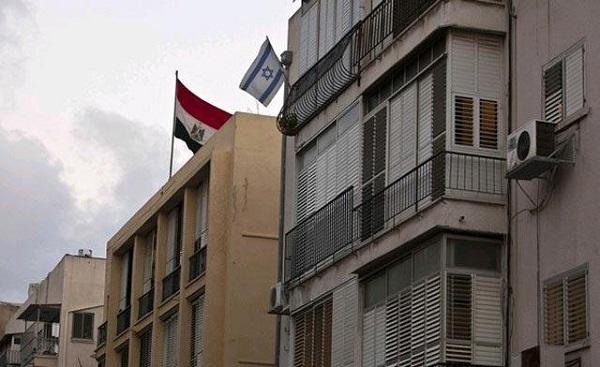 السفارة الإسرائيلية بالقاهره