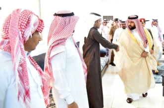 أمير جازان بالنيابة ينقل تعازي القيادة لذوي شهداء أبناء الداير - المواطن