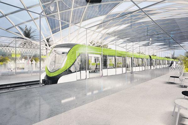 عيوب في أول أجزاء الأعمال المدنية لخط القطار فائق السرعة - المواطن