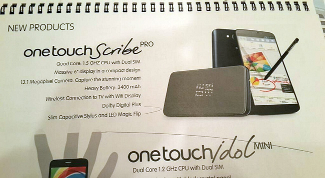 Alcatel-One-Touch-Scribe-Pro-Emerges-with-6-Inch-Screen