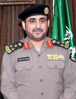 مدير شرطة منطقة حائل العميد إبراهيم بن عواض الألمعي
