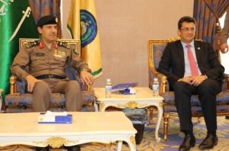 الفريق العمرو يستعرض تجربة الدفاع المدني بالحج مع سفير الاتحاد الأوروبي - المواطن
