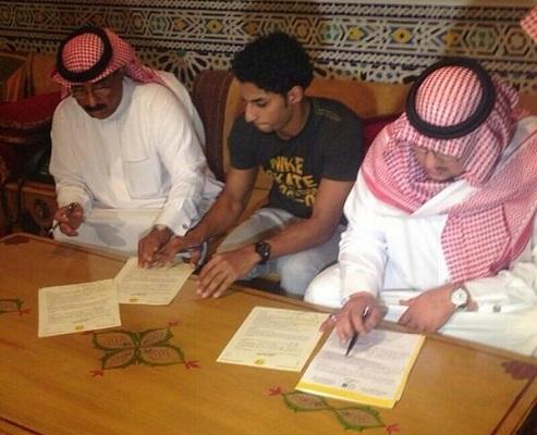 نادي النصر يتعاقد مع اللاعب عبدالعزيز الجبرين لـ5 مواسم قادمة