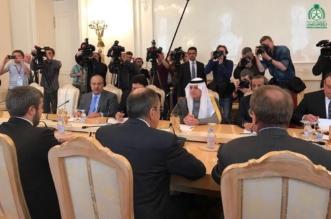 شاهد بالفيديو الجبير من موسكو : التحديات نتجاوزها بالتشاور - المواطن