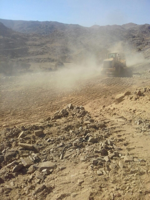 بالصور.. إزالة تعديات على 170.000م2 شمال أبها - المواطن