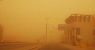 فرضية الأرصاد: عاصفة ترابية وأمطار غزيرة على #الرياض و #جدة