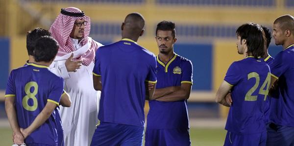 النصر يستأنف تدريباته استعداداً لمباراته أمام العروبة - المواطن