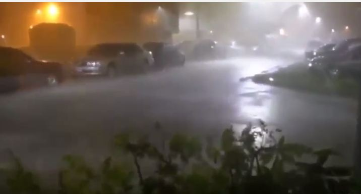 شاهد.. الإعصار ميجي يغرق شوارع تايوان قبل وصوله للصين