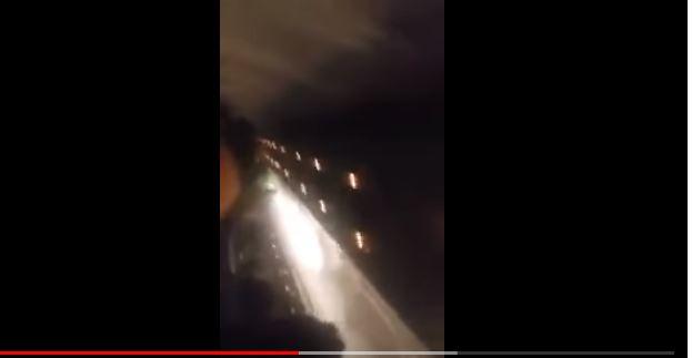 بالفيديو.. لحظات الرعب على متن طائرة ليبية كادت تسقط في البحر