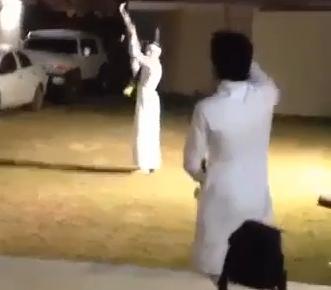 بالفيديو.. النصراويّون يطلقون النار فرحة بالفوز بالدوري - المواطن
