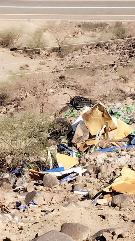 بالصور.. الأهالي: عقبة الأمير فيصل تحصد الأرواح.. وطرق الباحة:7 وفيات فقط - المواطن