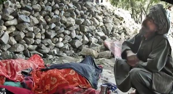 الانزلاقات الأرضية في أفغانستان