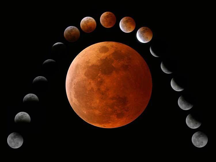 شاهد.. بث مباشر لخسوف القمر الأطول في القرن الـ21