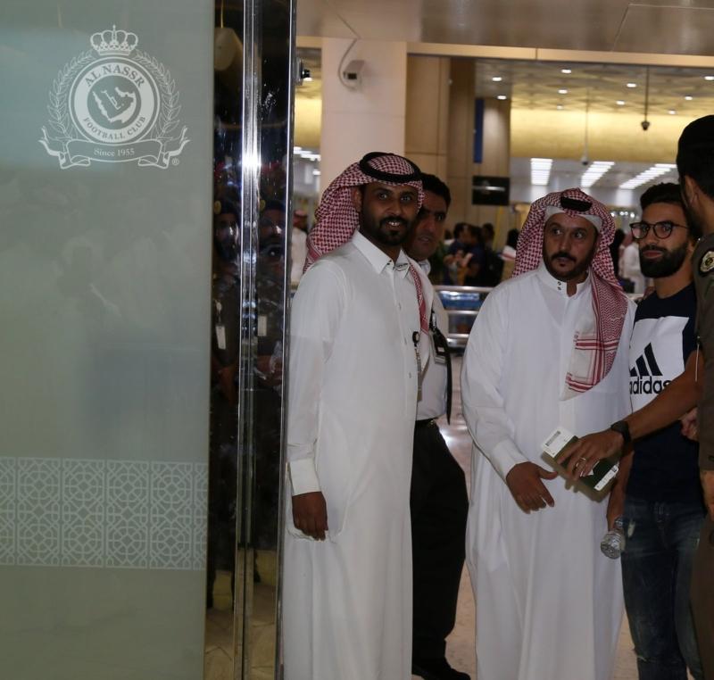 بالصور.. فوزير يصل الرياض - المواطن