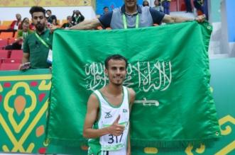 بالصور.. العمري يحرز فضية سباق 3000م بالألعاب الآسيوية - المواطن