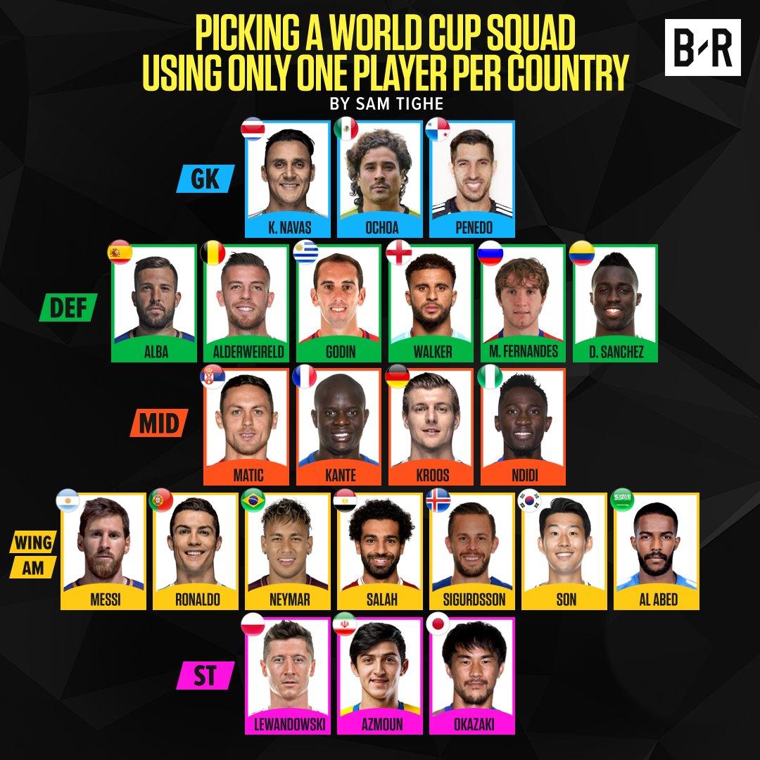 كيف وصل نجما السعودية ومصر لقائمة أفضل منتخب في العالم