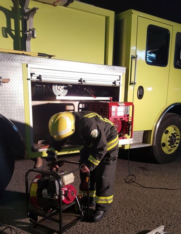 شاحن جوال يحرق منزلًا في حائل