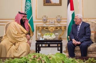 ولي العهد يبحث مع عباس تكثيف الجهود العملية لاستعادة حقوق الشعب الفلسطيني - المواطن