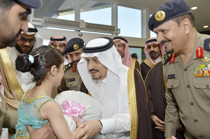 امير الرياض فيصل بن بندر يرعى فعاليات اليوم العالمي للدفاع المدني