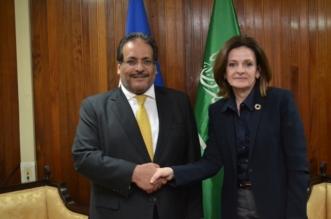 السفير رويلي يقدم نسخة من أوراق اعتماده لوزيرة خارجية هندوراس - المواطن