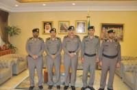 مدير شرطة جدة يقلد عدداً من الضباط رتبهم الجديدة