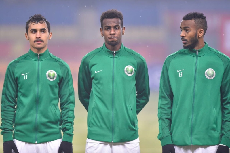 بعثة الأخضر الأوليمبي تصل إلى الرياض بعد الخروج من كأس آسيا