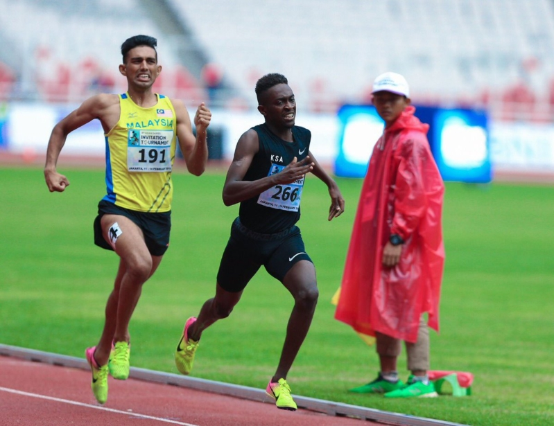 رائد الجدعاني يفوز بفضية 800 متر في دورة أسياد جاكرتا