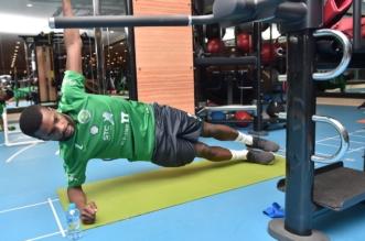 بالفيديو.. كيف يُطور لاعبو الأخضر قدراتهم البدنية؟ - المواطن