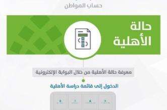 حساب المواطن: كشف الحساب الإلكتروني مرفوض - المواطن