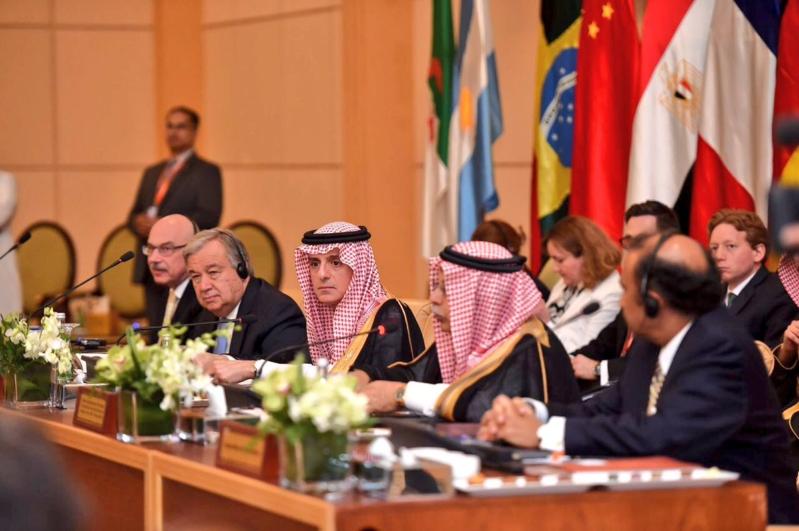 بالصور.. الجبير يفتتح اجتماع مركز الأمم المتحدة لمكافحة الإرهاب