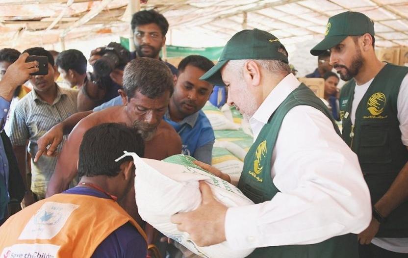 بالصور.. الربيعة يتفقد مخيمات اللاجئين الروهينجا في بنجلاديش
