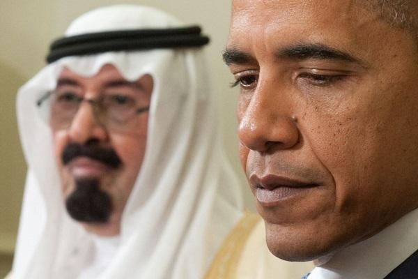 أوباما ينعى الملك عبدالله