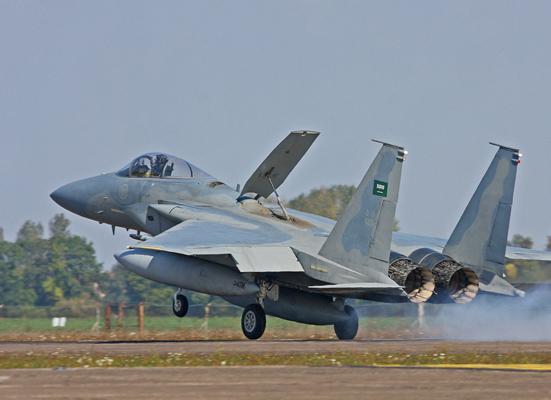 F15 طائرة سعودية حربية