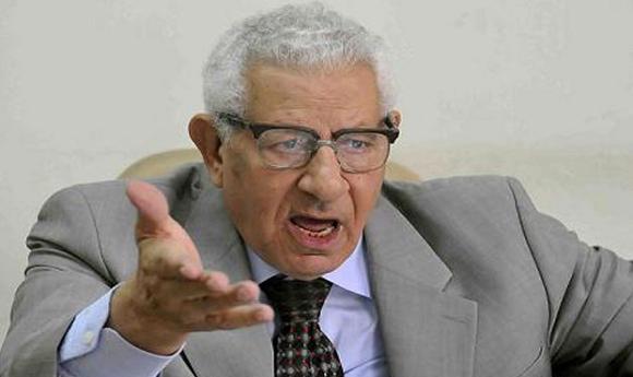 الكاتب الصحفي ونقيب الصحفيين المصريين الأسبق، مكرم محمد أحمد