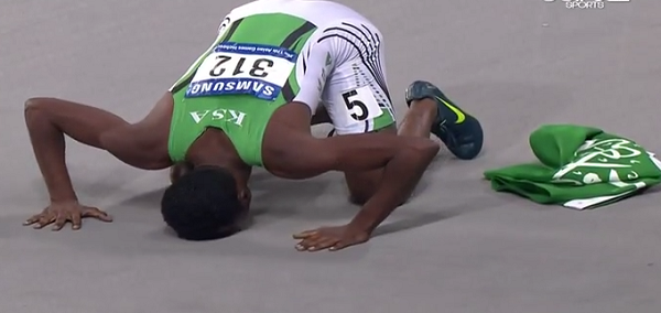مسرحي يخطف ذهبية سباق 400م في الألعاب الآسيوية