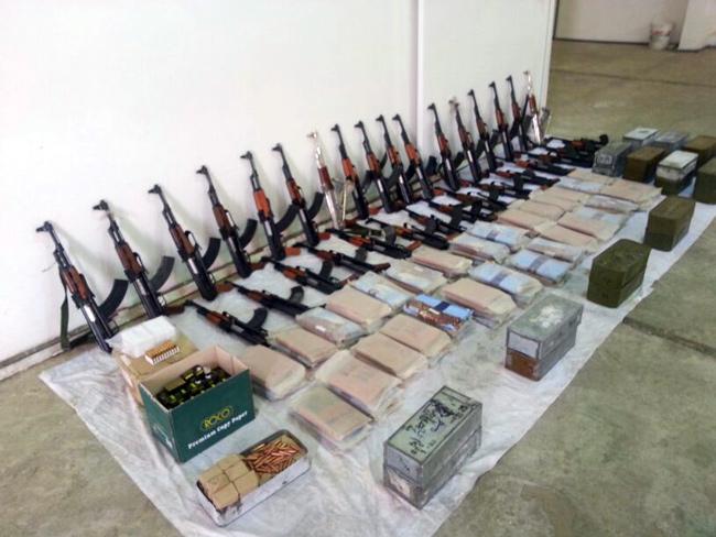 اسلحة - مخدرات - ممنوعات