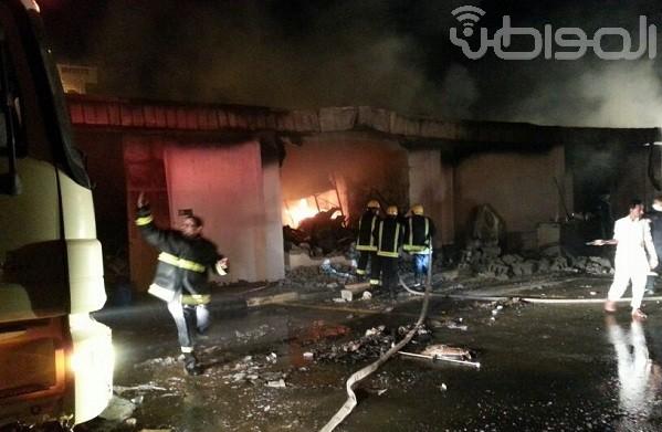 بالصور.. مدني البرك يباشر حريقاً IMG-20140413-WA0150.jpg