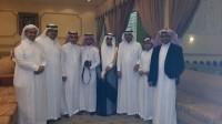 أحمد آل شاطر يحتفل بزواجه
