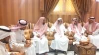 رئيس مركز وادي جازان يطمئن على صحة الشيخ الزقيلي المعافا