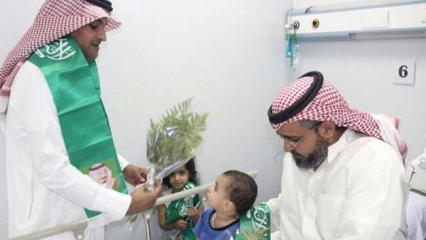مستشفى الإمام عبد الرحمن الفيصل يشارك مرضاه في فرحة يوم الوطن - المواطن