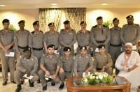 تكريم ضباط وأفراد من شرطة مكة لمساهمتهم في حل قضايا جنائية